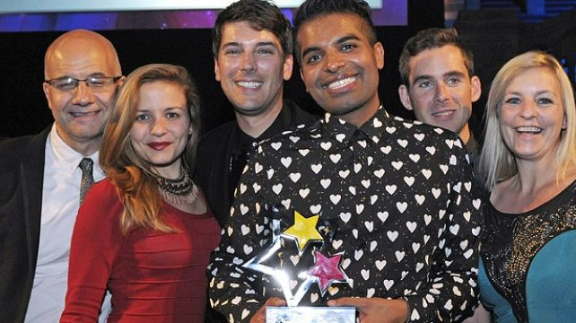 Winners of the European Diversity Awards 2013